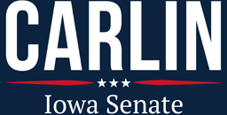Jim Carlin for Iowa Senate Logo